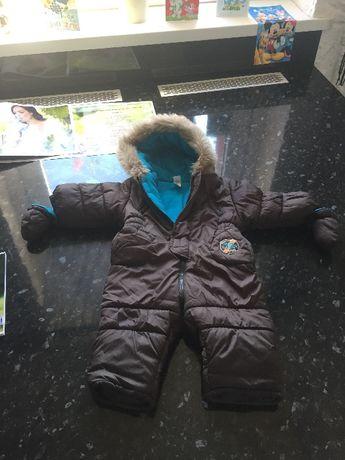 Kombinezon na zimę