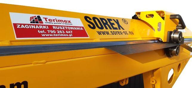 Zaginarka  Sorex ZRS-2160 z nożem od ręki Bochnia Kraków Nowy Targ