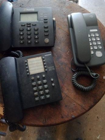 Telefones fixos não muito antigos