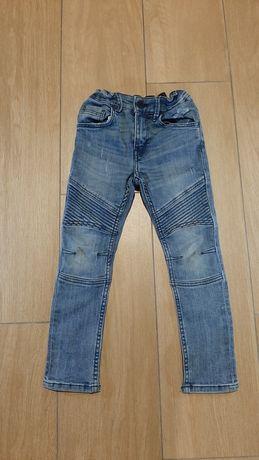 Spodnie jeansy wąskie
