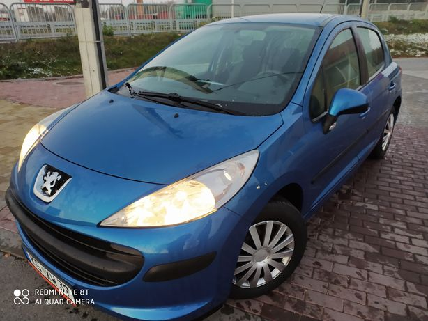 Peugeot 207*1.4 Ben*Stan Perfekcja*120 przebieg*klima*zamiana raty*