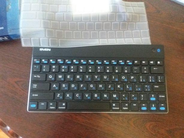 Беспроводная компактная Bluetooth клавиатура