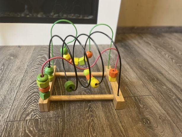 Пальчиковый лабиринт икеа развивающая игрушка