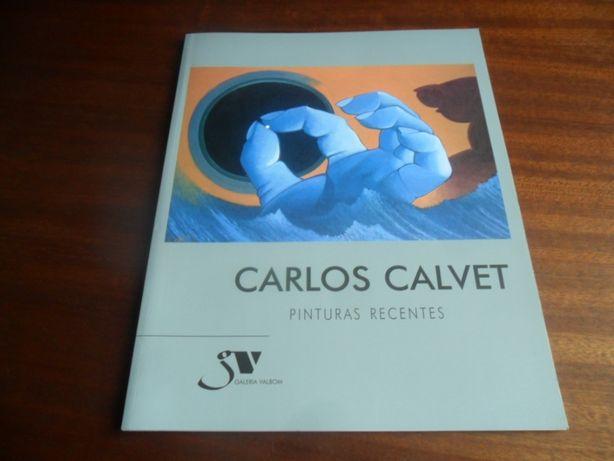"""""""Carlos Calvet - Pinturas Recentes"""" - Catálogo"""