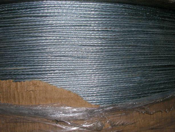 Linka stalowa ocynkowana fi 1,2 mm. 85 kg