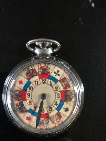 Relógio Jogo de cartas. 1950