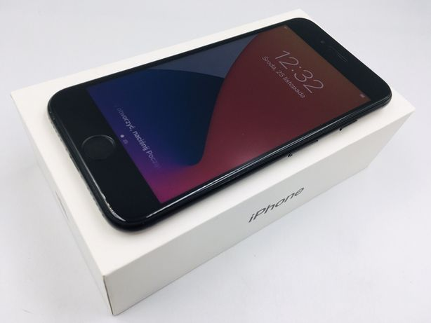 iPhone 7 128GB JET BLACK • NOWA bateria • GW 1 MSC • AppleCentrum