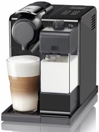 Maquina cafe nespresso lattissima touch de longhi preta