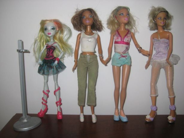 LALKI Monster High i Barbie