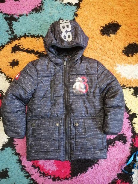 Демисезонная куртка удлененная звёздные войны star wars 104-110 4-5 ле