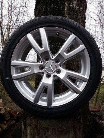 "Nowe Koła aluminiowe 17"" CALI 5x112 225/45r17 dunlop sp sport Vw Merc"