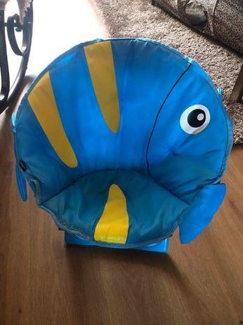 Krzeselko dzieciece rybka