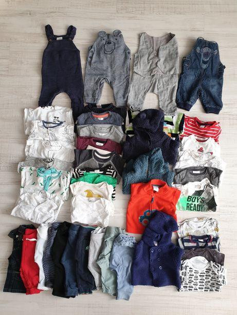 Paka ubranek dla noworodka niemowlaka,chłopczyka Next Zara H&M r.62 68