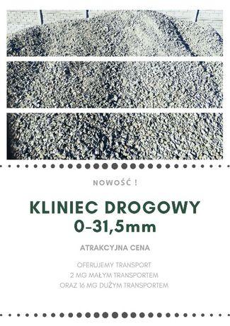 Kamień drogowy, serpentynit 0-31,5