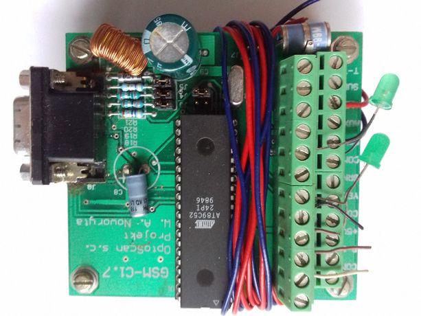 Sterownik moduł GSM Optoscan C 1.7
