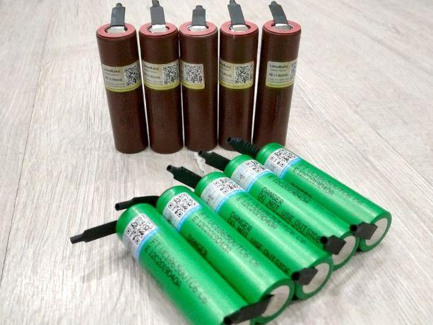 Качественные аккумуляторы 18650 под пайку для шуруповерта BMS