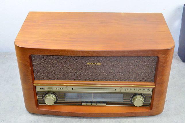Wieża stereo retro CD USB MP3 AUX UKF/MF Belle Epoque 1906