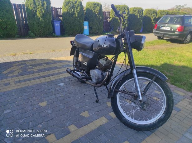 WSK 125 zamiana zamienię na motocykl quad cross prl auto wfm shl