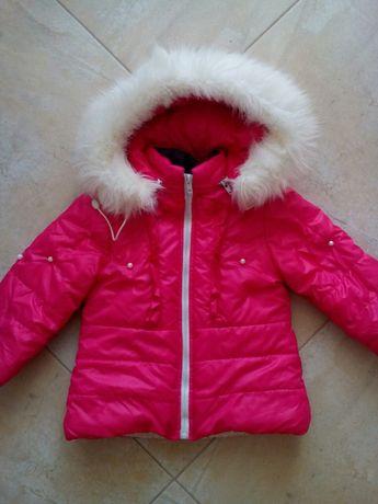 Курточка зимняя на овчине на 2-3 года в идеальном состоянии куртка