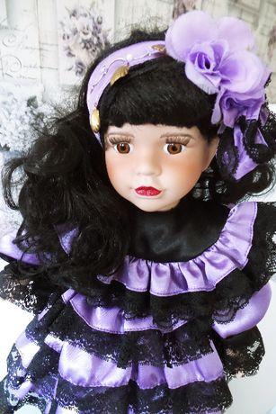 Piękna lalka porcelanowa - CYGANKA - Leonardo Collection - kolekcjoner