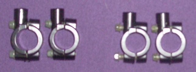suporte para espelhos de motas - em preto 2 medidas, estao nas fotos