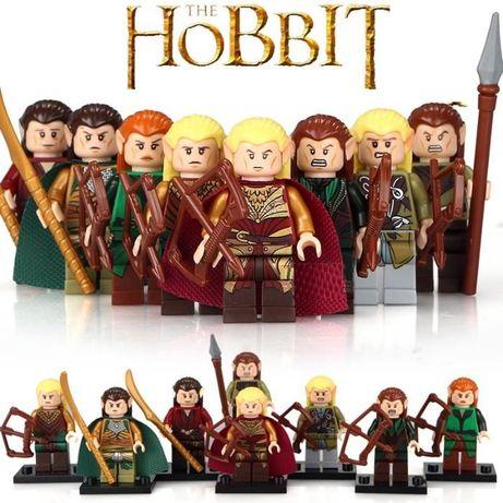 Bonecos minifiguras Hobbit / Senhor dos Anéis nº1(compativel com Lego)
