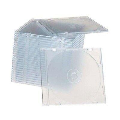 200 caixas cd/dvs vazias