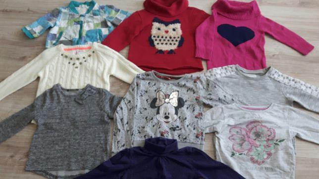 Swetry dla dziewczynki