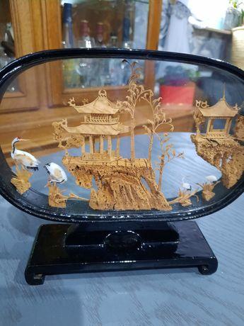 Misterna diorama za szłem - daleki Wschód Chiny , Japonia