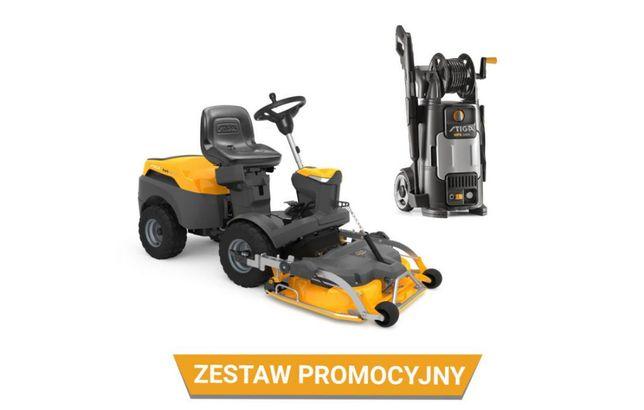 Zestaw Traktor ogrodowy Park 320 PW + Agregat Park 95 Combi + HPS 235