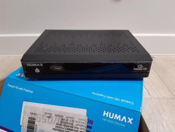 Tuner odbiornik satelitarny, internet, dolby digital - humax hb-1000s