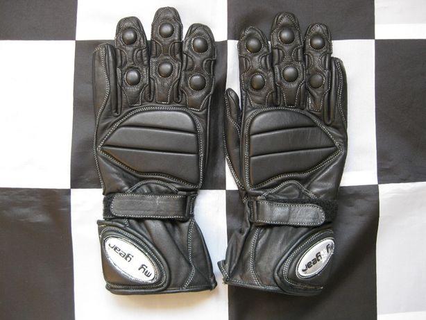 Rękawice motocyklowe MY GEAR rozm.S 20-21,5cm