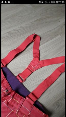Różowe spodnie narciarskie roz.164