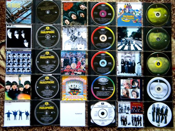 Полная коллекция CD Beatles в формате Flac