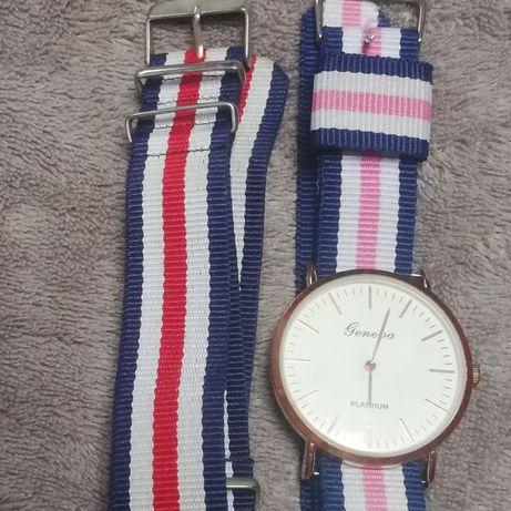 Zegarek z kolorowym paskiem