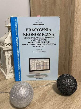 Pracowania ekonomiczna cz. I B. Padurek (subiekt-GT)