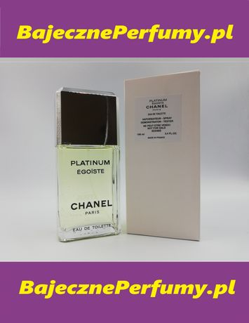 Perfumy CHANEL Platinum Egoiste 100ml Tester hit okazja WYSYŁKA cfrewr