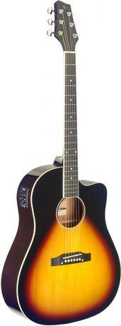 Guitarra Electro-Acústica Stagg - SA35 DSCE-VS