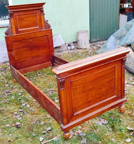 Łóżko mieszczanskie XIX wiek Oryginał