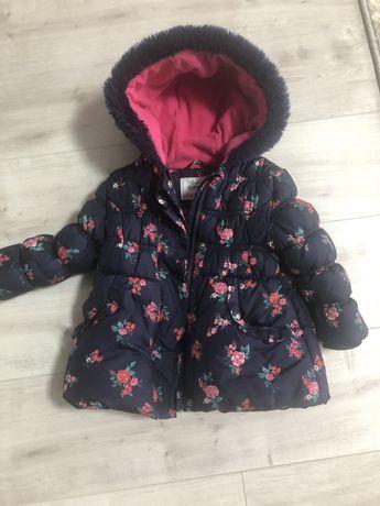 Курточка на девочку  осень-зима  2-3 года