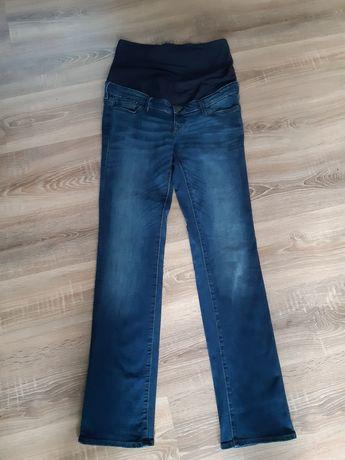 Spodnie dżinsy ciążowe z gumką hm mama 42 xl