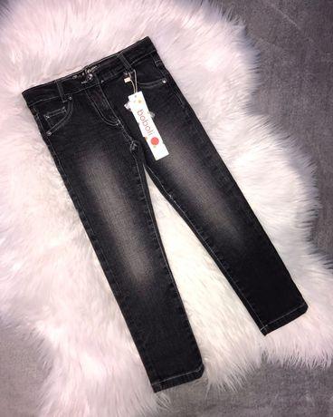Новые темно-серые джинсы скини от Boboli на девочку 5 лет, 110 см