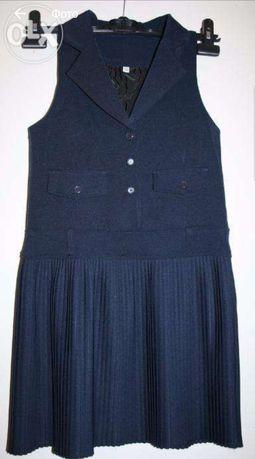 Школьная форма, сарафан, платье в школу, на 8-9 лет. Новое