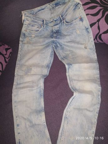 Классные стильные джинсы 46-48