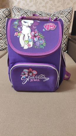 Школьный рюкзак каркасный Кайт Kite My little pony