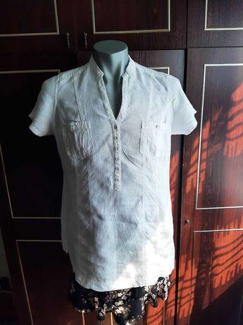 Блуза M&S , 100% лён. размер 52-54.