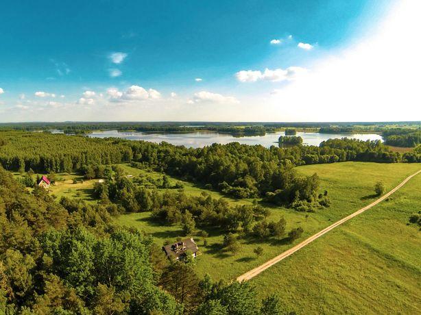 Działka niezabudowana   26900 m2   w pobliżu jeziora