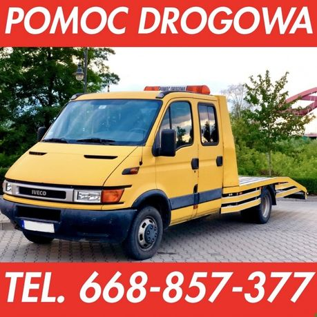 Pomoc drogowa Autolaweta Transport Laweta