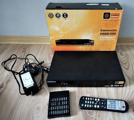 Dekoder HD PVR Sagemcom ESI-88 / plus dysk 320GB