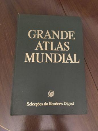 Grande atlas universal - 38 cm - cheio de imagens detalhadas
